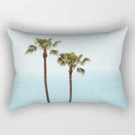 Morning in Laguna Beach Rectangular Pillow