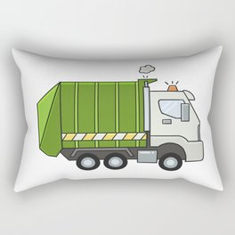 GarbageTruck Rectangular Pillow