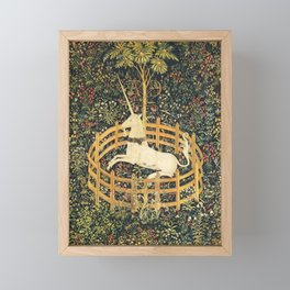UNICORN IN CAPTIVITY Framed Mini Art Print