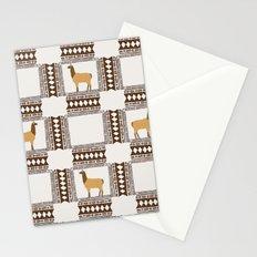 Lamas of Machu Picchu Stationery Cards