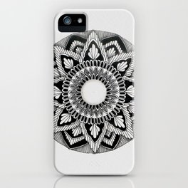 A4 Mandala 1 iPhone Case