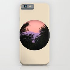 Clouds As Mountains Circular Slim Case iPhone 6s