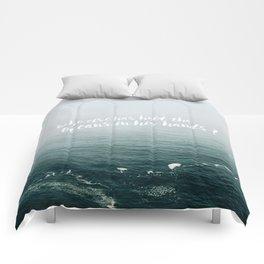 HELD THE OCEANS? Comforters