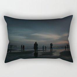 Ghost Beach Rectangular Pillow