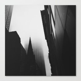 Midtown Fog, NYC Canvas Print