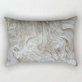 The Worn Wood Rectangular Pillow