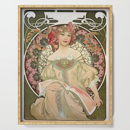 Alfons Mucha - Dreamy - Digital Remastered Edition Serving Tray