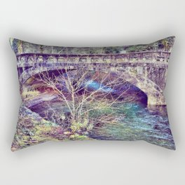 Water under the bridge Rectangular Pillow