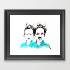 Inner Dictator Framed Art Print