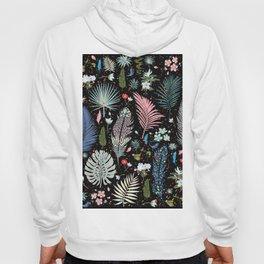 Magic Garden / Floral Pattern Hoody