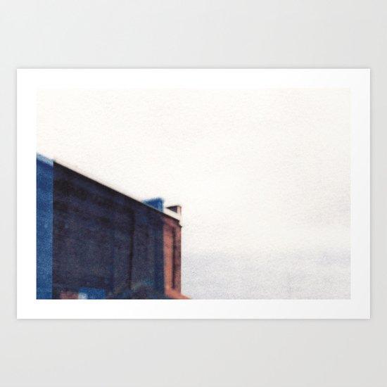 Double Building  Art Print