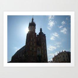 Kraków Art Print