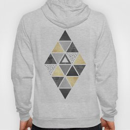 Composition with gold Hoody