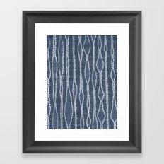 Orinui Stripes Framed Art Print