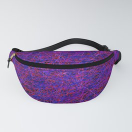 tangle, with a few faces Fanny Pack