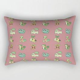 Grass Starters Pattern Rectangular Pillow