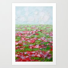 September Fields No. 2 Art Print
