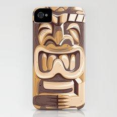 Happy Tiki iPhone (4, 4s) Slim Case