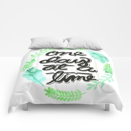 One Day At A Time Comforters
