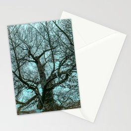A very scary winter tree from Wales Stationery Cards