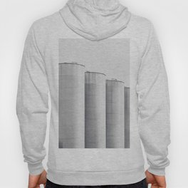 Industrial, architecture photography, fine art, black & white photo, b&w urban, man cave gift Hoody