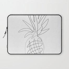 One Line Pineapple Laptop Sleeve