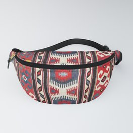 Kazak  Antique South West Caucasus Kilim Fanny Pack