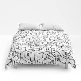 Endless City Comforters