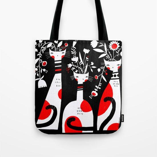 VASE CATS Tote Bag