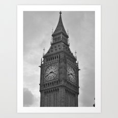 Big Ben II Art Print