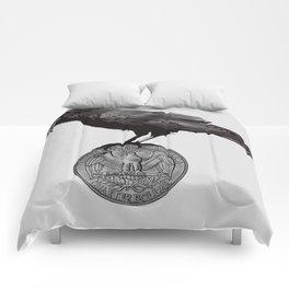 E Pluribus Corvus Comforters