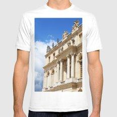 Blue Sky Versailles MEDIUM White Mens Fitted Tee