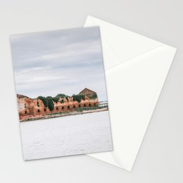 Island near Venice   Italy   Europe   Travel photography Stationery Cards
