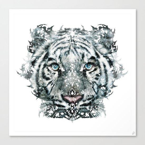 The White Tiger (Classic Version) Canvas Print