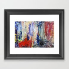 Untitled Abstract #5 Framed Art Print