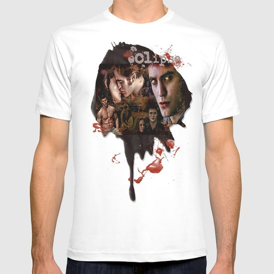 Eclipse Tribute by Martoni (Pattinson, Stewart, Lautner) T-shirt