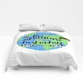 A Darker Shade of Magic Quote Comforters
