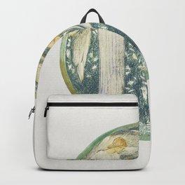 White Garden from The Flower Book (1905) by Sir Edward Burne-Jones Backpack