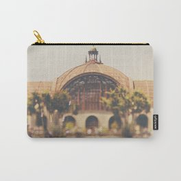all the colours & curves of the botanical building in Balboa Park, San Diego Carry-All Pouch