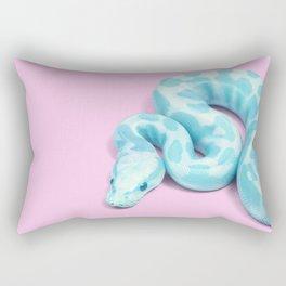 BLUE SNAKE Rectangular Pillow