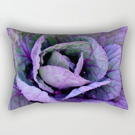 Purple Frost Rectangular Pillow
