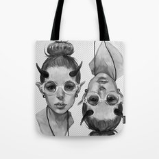 Monster Girl #3a Tote Bag