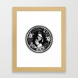 """Inktober, Day 9 """"Precious"""" #inktober #inktober2018 Framed Art Print"""