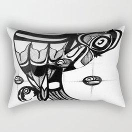 Raven Steals the Stars Rectangular Pillow