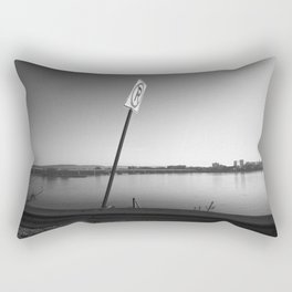 Pollution Permitted B&W Rectangular Pillow