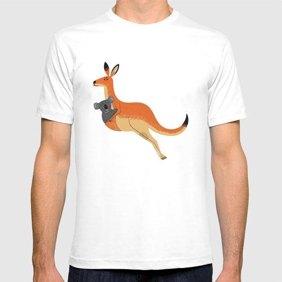The Kangaroo and The Koala T-shirt
