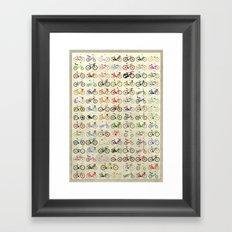Bikes Framed Art Print