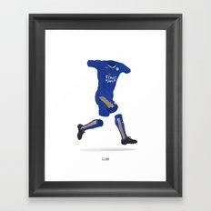 Leicester City 2015-16 - Premier League Champions Framed Art Print