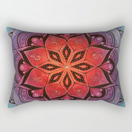 Transcend Mandala Rectangular Pillow