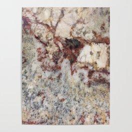 Granite, iPhone-Photo I, #stone #rock Poster
